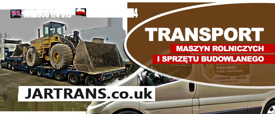 Transport przesyłek, samochodów POLSKA-ANGLIA